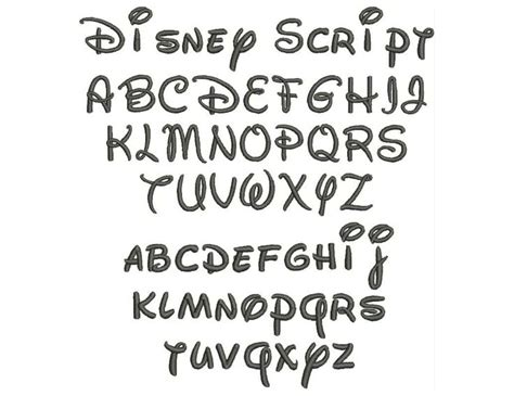 tattoo fonts disney 342 best images about fonts on alphabet