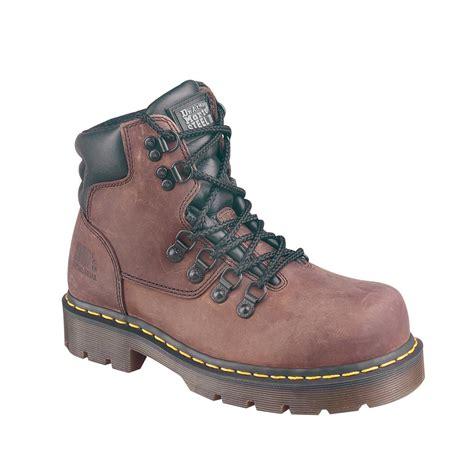 s dr martens 174 6 eyelet steel toe boots 26149