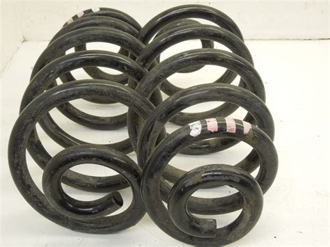 white and pink audi audi a4 b6 b7 v6 rear springs 1 white 3 pink ebay