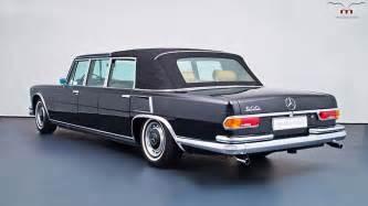 Mercedes 600 Landaulet This Mercedes 600 Pullman Landaulet Is Fit For A