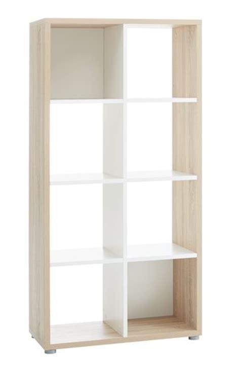Oak Room Divider Shelves Room Divider Haldager 8 Shelf Oak White Jysk