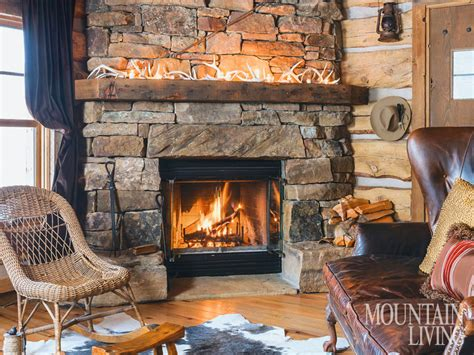 Cabin Fireplace Mantels by Fireplace Fireplaces Mantels Wood Beams