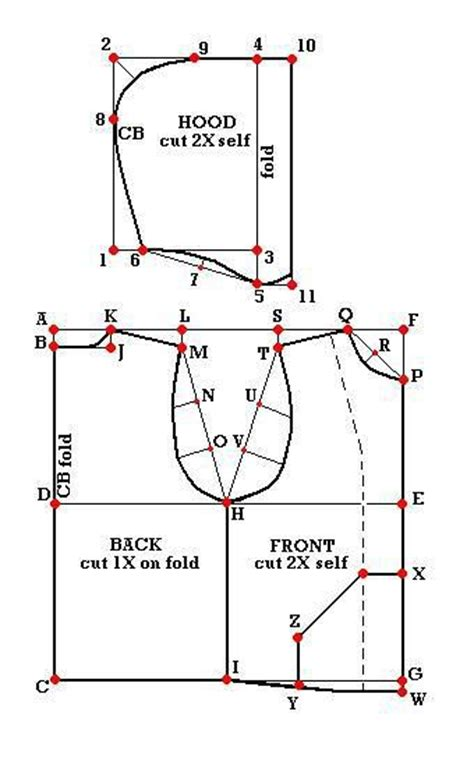 pattern drafting glossary vests patterns and tutorials on pinterest
