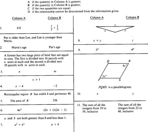 practice gre quantitative section gre quantitative section 28 images the gre
