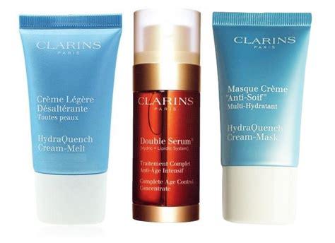 Clarins Hydraquench Gel 15ml clarins serum set regalo que se compone de clarins serum 30 ml clarins