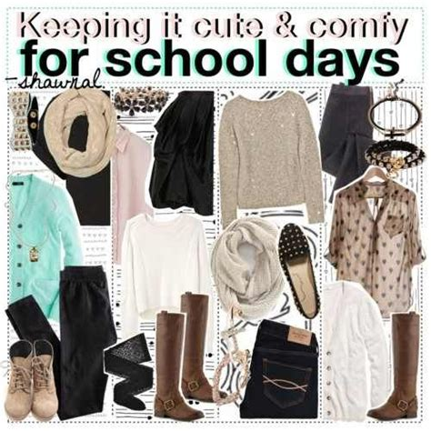 cute comfortable outfits for school cute and comfy outfits for school polyvore outfits