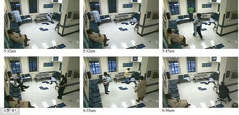 are there cameras in hospital rooms on patient dies on hospital floor as staff ignored for an hour daily