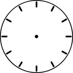 Blank Clock Template by Blank Clock Template Blank Clock Blank Clockface 点力图库
