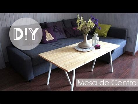 diy decoraci 243 n mesa de centro de madera