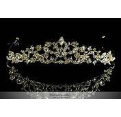 Bridal Gold Tiara Crystal Swarovski