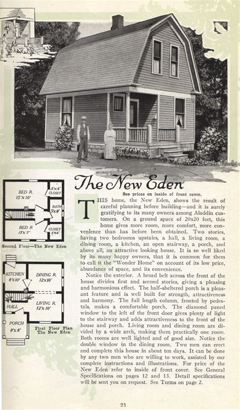 aladdin homes floor plans aladdin homes catalog of 1918 vintage house plans 1910s