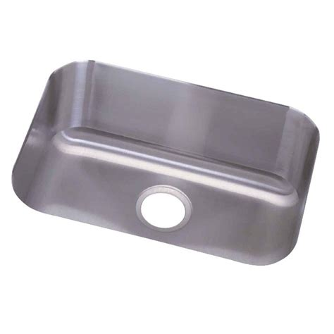 Home Depot Undermount Kitchen Sink Revere Undermount Stainless Steel 24 In 0 Single Bowl Kitchen Sink Ncfu2115 The Home Depot