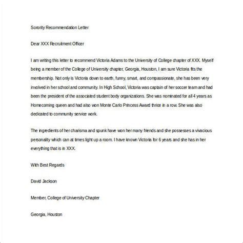 Community Service Recommendation Letter For Student Letter Of Recommendation For Student 35 Free Documents In Word Pdf