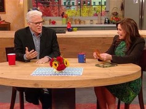 ted gibson on rachael ray ted danson takes rachael ray s speed round quiz youtube