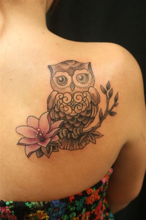 girl owl tattoo designs 20 owl tattoos designs tattoos beautiful