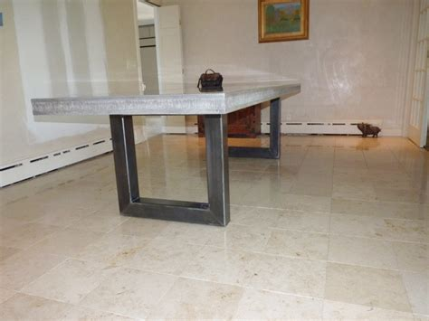 concrete table modern dining tables other metro by