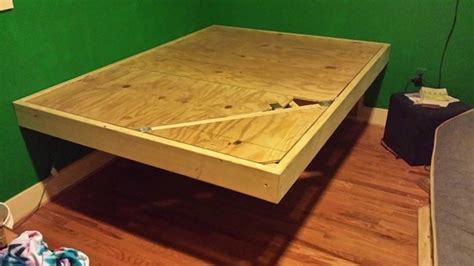 How To Make A Floating Bed Frame How To Build Your Own Floating Bed Daily Digest