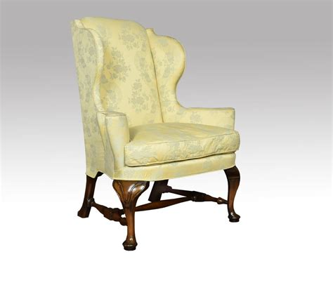 queen armchair queen anne style wing armchair antiques atlas