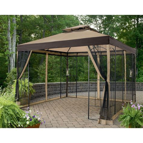 arrow gazebo kmart essential garden 10x10 arrow gazebo replacement