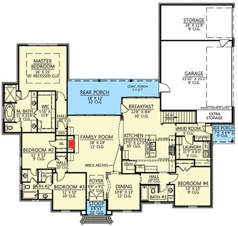 acadian house plans with bonus room plan 56377sm 4 bed acadian house plan with bonus room