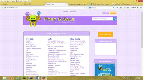 online tutorial project in php online posting and selling website like olx com free