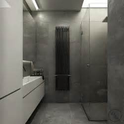 slate tile bathroom interior design ideas and white hexagon red