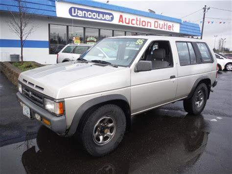nissan pathfinder vancouver 1995 nissan pathfinder xe 4dr 4wd suv for sale in