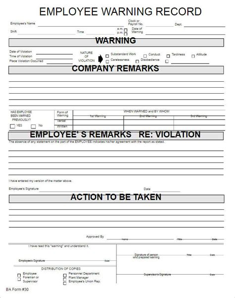 employments write up form template free word pdf