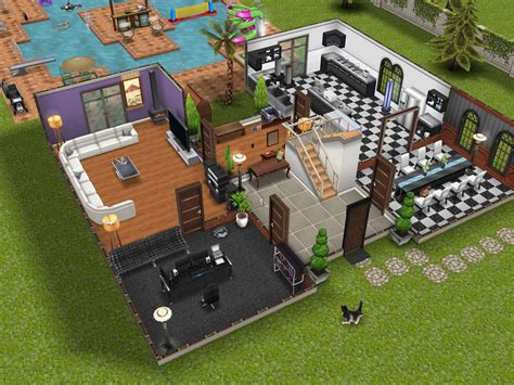 Turangga Mansion the gallery for gt sims freeplay two story mansion floor plan
