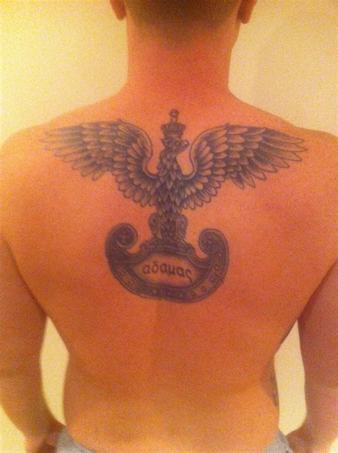 polish tattoos white eagle the unbirthday