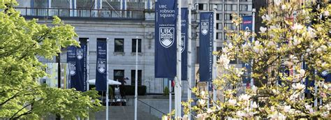 Vancouver Bc Mba Programs by Ubc Cuses The Of Columbia