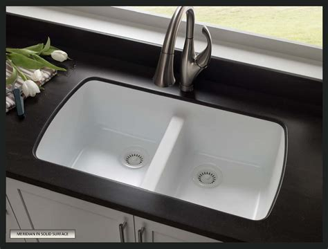 Solid Surface Kitchen Sink How To Choose A Sink For Solid Surface Countertops Solidsurface