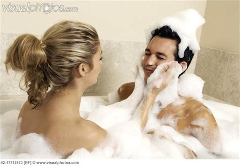 young couple having bubble bath bubble bath pinterest