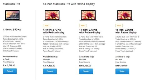 apple menaikkan harga jualan macbook air dan macbook pro