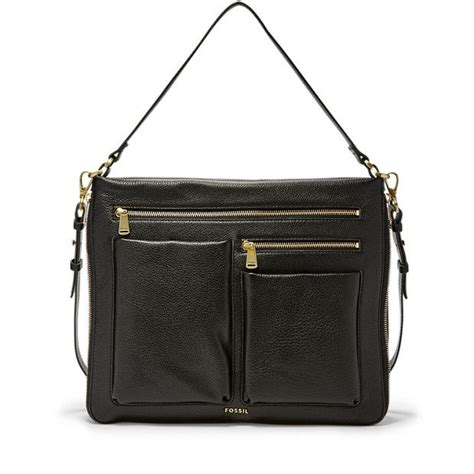 Tas Fossil Piper Crossbody fossil piper large crossbody my style fossil leather and bags