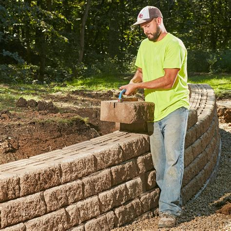 build a sturdy retaining wall that will last a lifetime