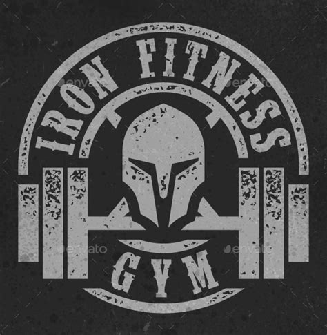 Iron Fitness iron fitness by steadsupplyco graphicriver