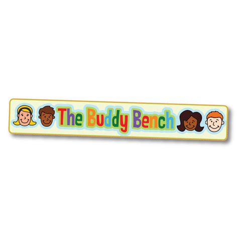 buddy bench sign buddy bench sign