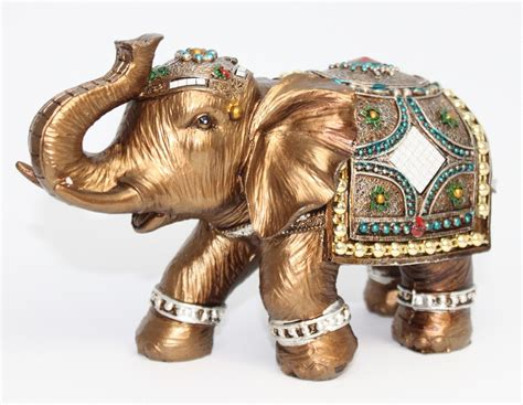statues for home decor feng shui elegant elephant trunk statue lucky wealth