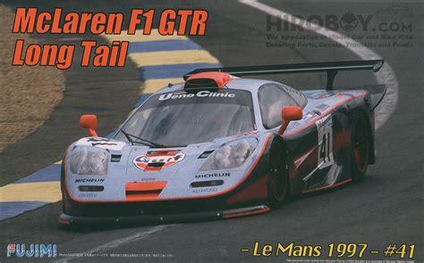 124 Mclaren F1 Gtr 1997 Le Mans 24h 1 24 mclaren f1 gtr gulf le mans 1997 41 fuj 125817 fujimi