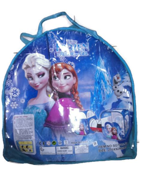 Tenda Anak Karakter Frozen jual tenda anak pop up 3in1 motif frozen 270x92x92cm