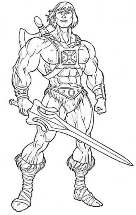 he man coloring pages coloring pages