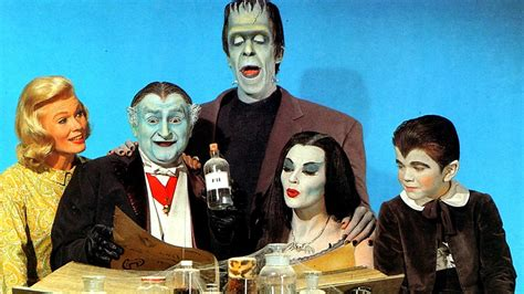 munsters in color the munsters opening credits get a color upgrade