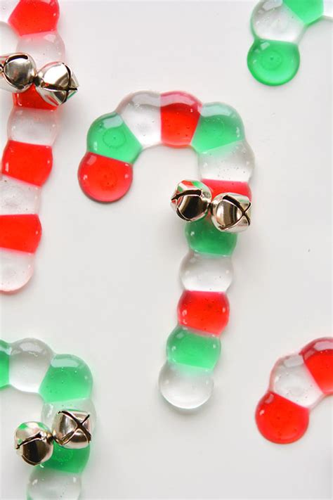melted bead candy canes candy cane bead ornaments