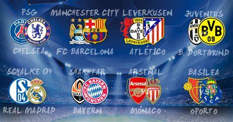 Calendario De Arsenal Chions League Se Sortearon Los Octavos De
