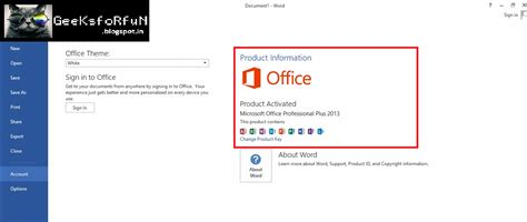 4 Interesting To Check by How To Activate Ms Office 2013 Any Version For Free
