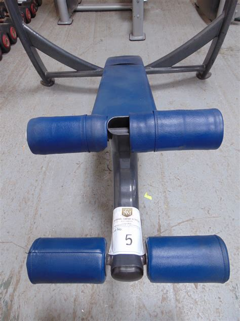 cybex decline bench olympic decline cybex weight bench bars not included