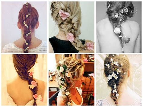 The Best Way to Wear Flowers in Your Hair   Hair World