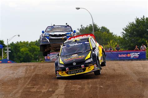 rallycross truck tanner foust wins red bull global rallycross automotive