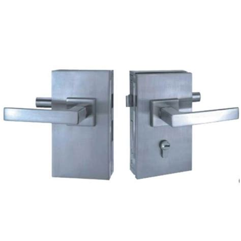 Commercial Double Side Glass Door Lock For Double Door Commercial Glass Door Locks